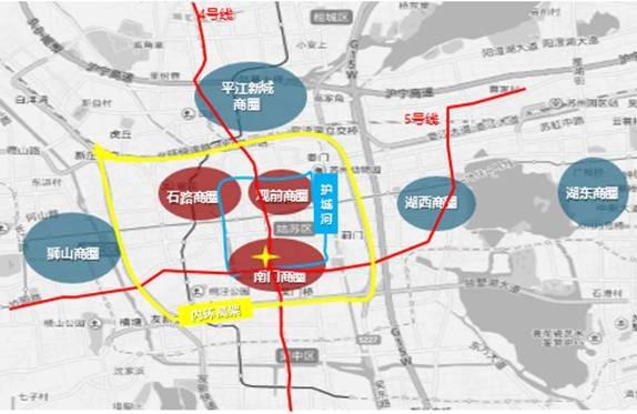 青岛市商圈地图