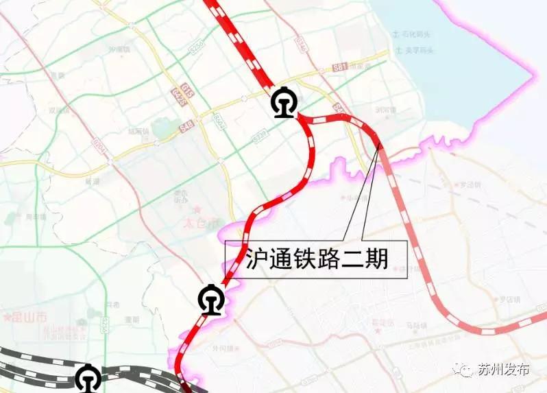 """苏州""""十三五""""铁路规划出炉!五大重要铁路项目明确"""